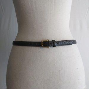 Leegin Snake Embossed Women's Skinny Genuine Sz 30